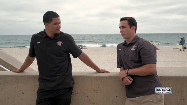 WR Mikah Holder and QB Christian Chapman talk about what it means to be an Aztec