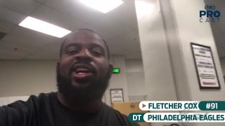 Eagles DT Fletcher Cox gives you a behind-the-scenes look in the Philly locker room