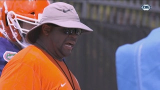 Effort at the heart of Florida OL coach Brad Davis' style