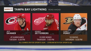 Lightning have day off before taking on Hurricanes