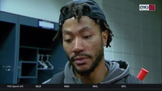 Derrick Rose criticizes officials' common foul ruling