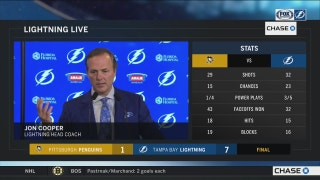 Jon Cooper: We got the lead early, and that played a big part