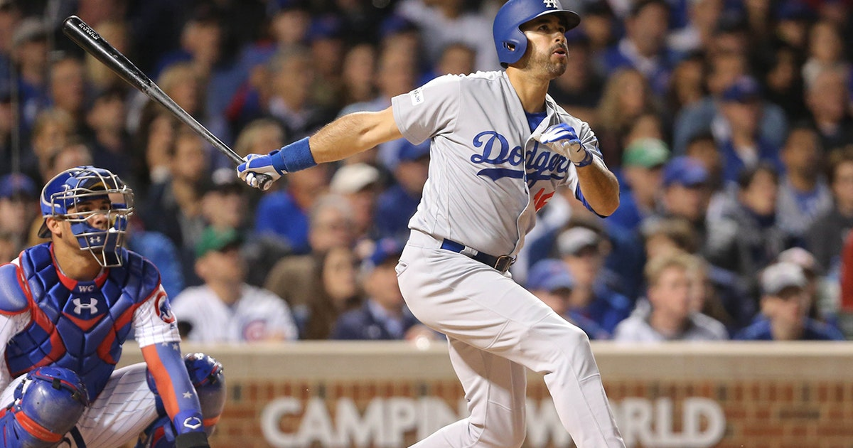 Andre Ethier's solo home run ties the game for Los Angeles (VIDEO)