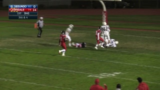 Week 8: Oh no! Fumbled snap and El Segundo recovers in the end zone