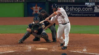 Evan Gattis' massive home run gives Astros the lead over the Yankees