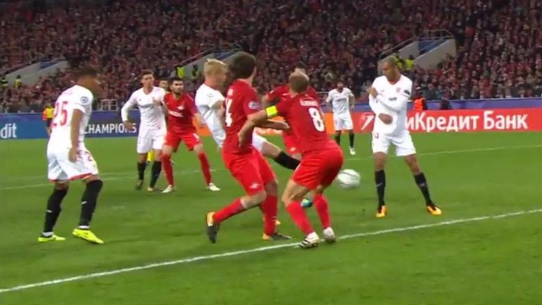 Spartak Moscow vs. Sevilla | 2017-18 UEFA Champions League Highlights