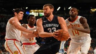 Grizzlies LIVE To GO: Grizzlies suffer first preseason loss to the Hawks 100-88