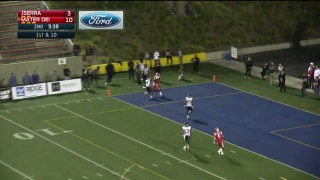 Week 8: Bru McCoy reels in the fade to the corner for the TD