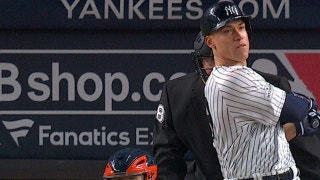 Aaron Judge gets his first HR of the postseason as the Yankees win Game 3 of the ALCS