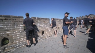LA Kings Weekly: Visiting the Great Wall of China