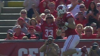Wisconsin leads 21-3 at the half thanks to Alex Hornibrook connecting with Zander Neuville for an 8-yd touchdown