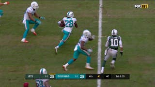 Miami's Bobby McCain picks off Josh McCown to set up game winning field goal