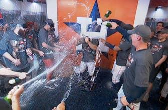 FOX MLB Crew reacts to Houston's locker room celebration