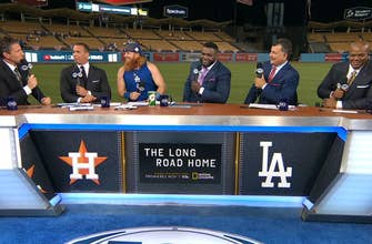 Justin Turner joins the FOX MLB Crew to talk Game 1