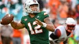 Malik Rosier and the No. 8 Miami Hurricanes stave off the Syracuse Orange to win 27-19