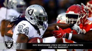 Has Marshawn Lynch become a distraction for the Raiders?