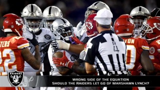 Should the Raiders let go of Marshawn Lynch?