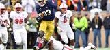 Josh Adams' 202 rushing yards help No. 9 Notre Dame take down No. 14 North Carolina State
