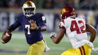 Notre Dame dismantles USC 49-14
