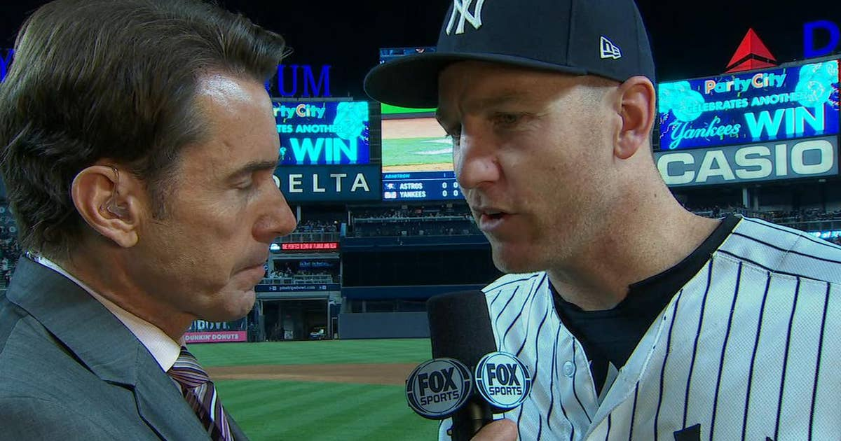 Todd Frazier on Yankees' big 8th inning: 'We exploded' (VIDEO)