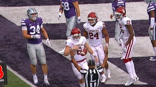Baker Mayfield gives Oklahoma the lead with a 3-yd touchdown run