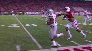 Ohio State's J.K. Dobbins runs 52 yards for a touchdown