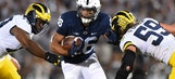 Saquon Barkley's 3 TDs help No. 2 Penn State cruise past Michigan, 42-13