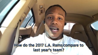Wide receiver Pharoh Cooper compares the 2017 Rams to last year's team.