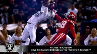 Have the Raiders emerged as the favorite in the West?