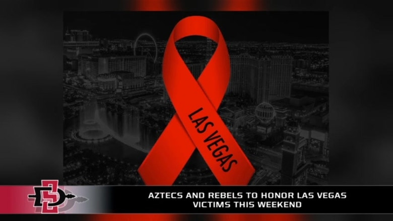 SDSU and UNLV to honor Las Vegas victims Saturday