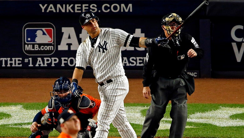 Gary Sanchez's solo home run helps New York lock up 3-2 ALCS lead