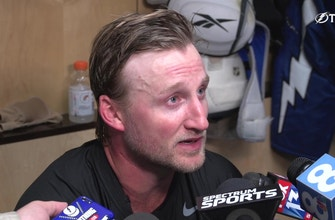 Steven Stamkos says it's important Lightning get off to fast start this season