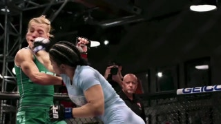 Watch the highlights of the fight between Rachael Ostovich-Berdon and Melinda Fabian | The Ultimate Fighter