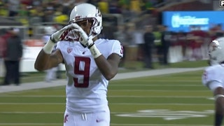 Washington State extends lead vs. Oregon with interception and 25-yard touchdown