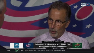 It doesn't matter how, John Tortorella will take the two points.