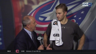Alex Wennberg understands that if you fight hard, you will get rewarded