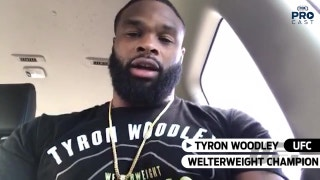 UFC champ Tyron Woodley gives his thoughts on Lawler vs dos Anjos | PROcast
