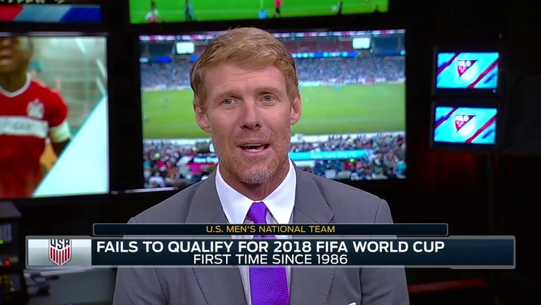 Alexi Lalas' take on the state of U.S. soccer after missing the World Cup spot