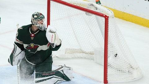 Devan Dubnyk, Wild goalie (↓ DOWN)