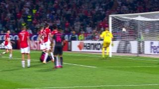 Red Star Belgrade vs. Arsenal | 2017-18 Europa League Highlights