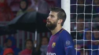 Barcelona vs. Olympiacos | 2017-18 UEFA Champions League Highlights