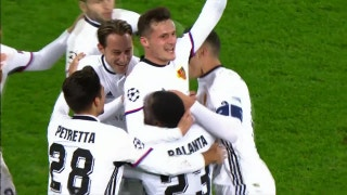 CSKA Moscow vs. FC Basel | 2017-18 UEFA Champions League Highlights