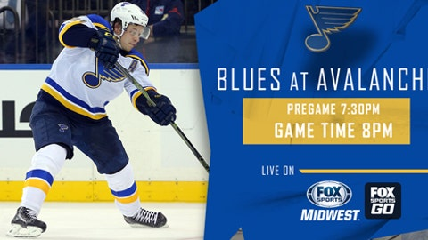 Blues Hold Off Avalanche 4-3
