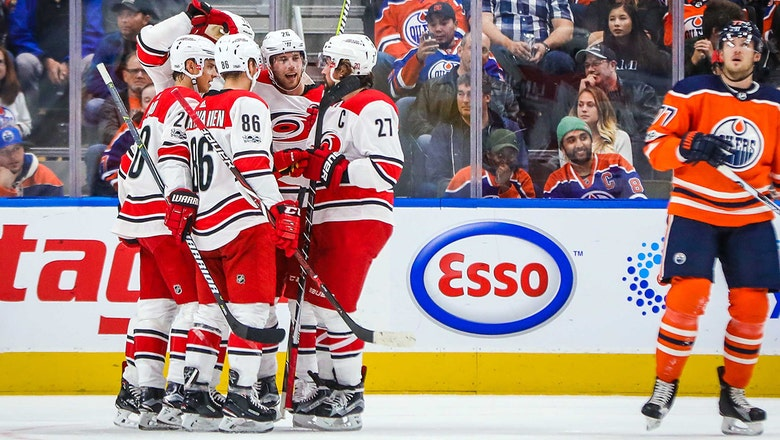 Canes LIVE To Go: Staal, Slavin lead Hurricanes past Oilers