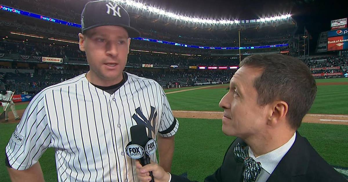 Chase Headley describes his 'panic' moment during Yankees' big Game 4 win (VIDEO)