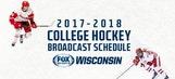 FOX Sports Wisconsin announces 2017-18 college hockey TV schedule