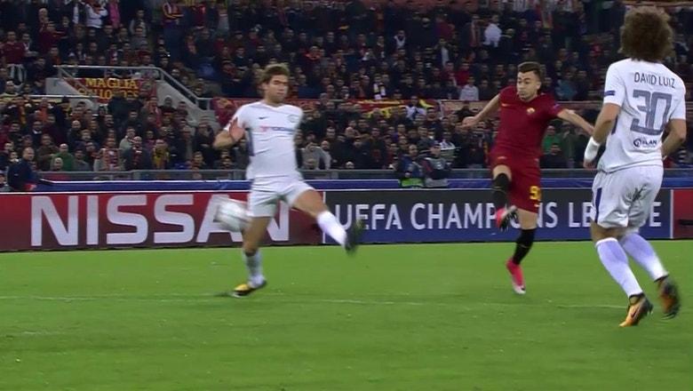 Roma's El Shaarawy nets stunner vs. Chelsea in opening minute