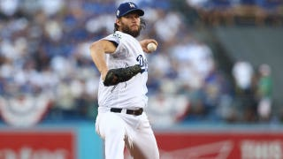 Clayton Kershaw on his 11 K's in his first WS start