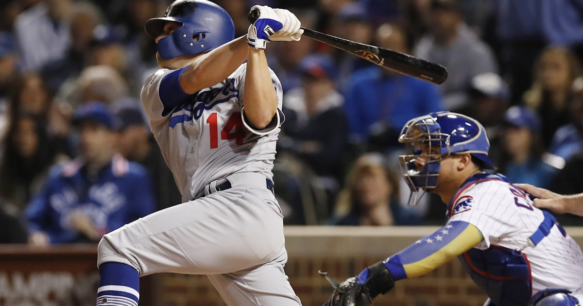 Kiké Hernandez hits a grand slam to help the Dodgers break open Game 5 and get to the World Series (VIDEO)