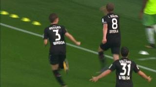 Bayer Leverkusen vs. Wolfsburg | 2017-18 Bundesliga Highlights